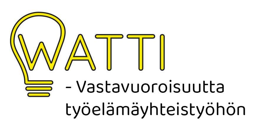 WATTI - Vastavuoroisuutta työelämäyhteistyöhön