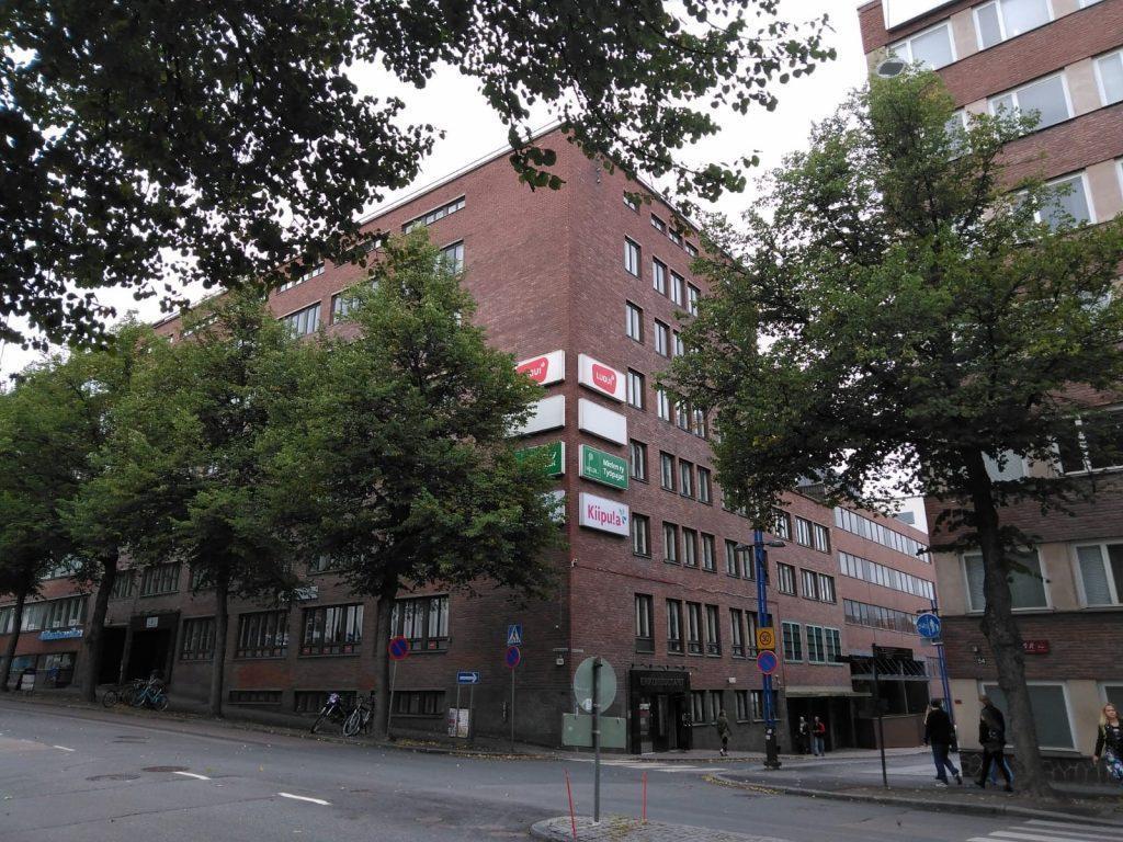 Tampereen yksikön päärakennus.