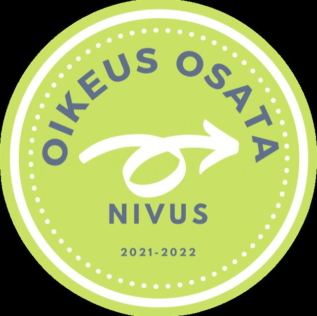 Oikeus osata - Nivus-hankkeen tunnus