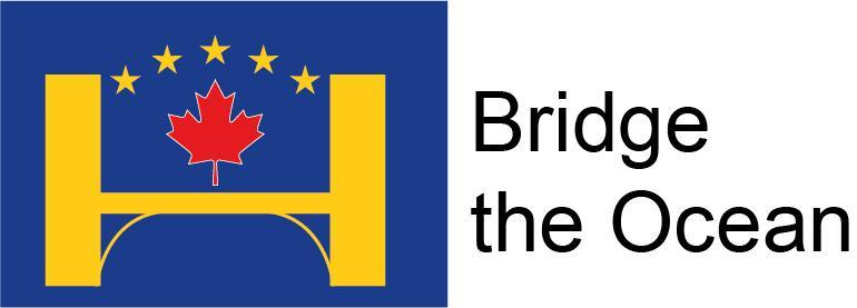 Bridge the Ocean hankkeen logo.